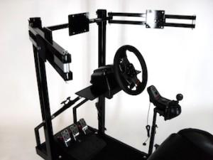 Driving Simulator seat top