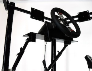 Driving Simulator seat wheel