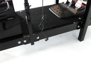 Driving Simulator seat bottom frame