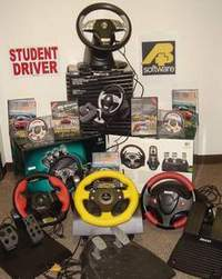 Driving Simulator Simuride Steering Wheel