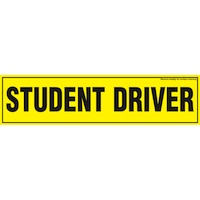 magnetic driving student sign
