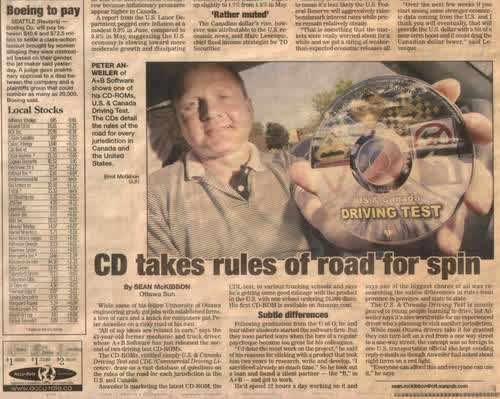 Press Release Ottawa Sun Driving Simulator