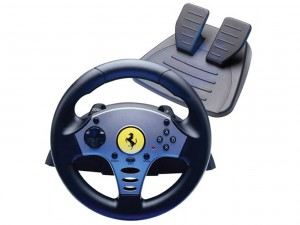 Steering Wheel Driving Simulator
